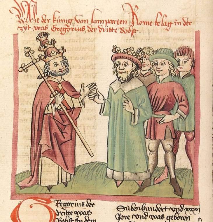Frühes Mittelalter  –  Der Bilderstreit in Byzanz (8./9.) Jahrhundert – Ikonoklasten gegen Ikonodulen