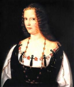 Bildnis Lucretia Borgia - Künstler und Datum unbekannt
