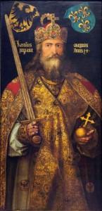 Karl der Grosse Gemälde von Albrecht Dürer (Quelle: Wikimedia)