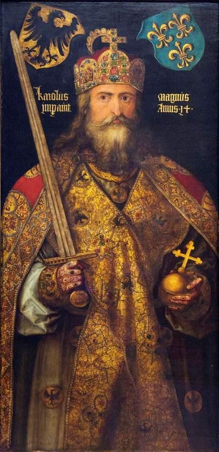 Karl der Grosse - Gemälde von Albrecht Dürer