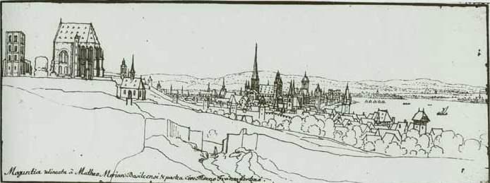 St. Alban mit Chor und Turm