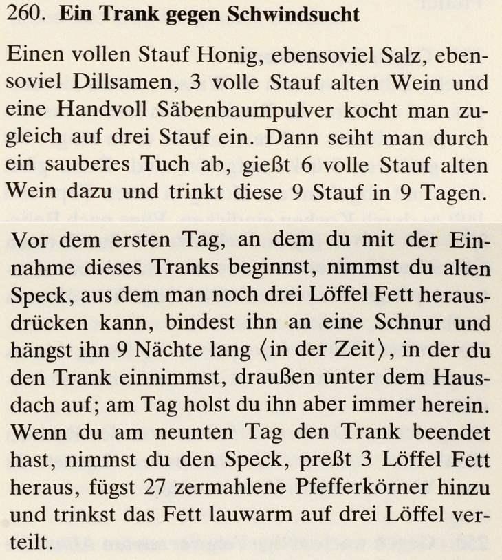 16_Das Lorscher Arzneibuch der Staatsbibliothek Bamberg_Rezept Schwindsucht