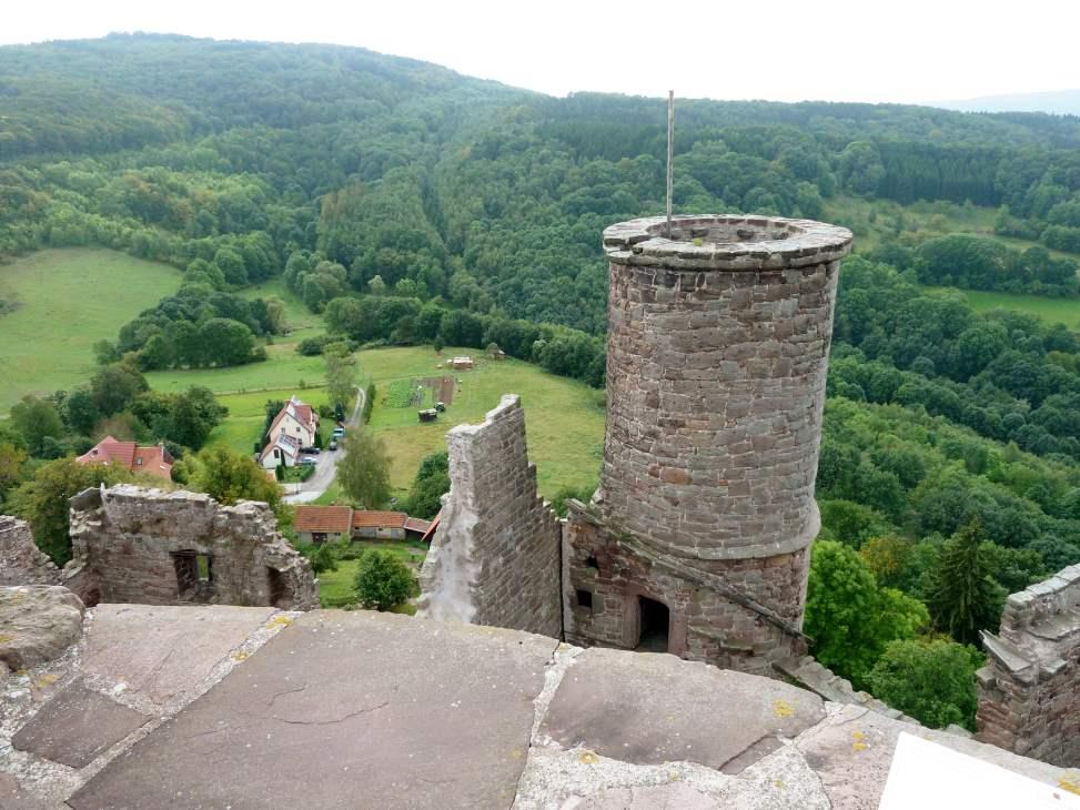 Blick vom Hanstein nach Süden zur Junkerkuppe