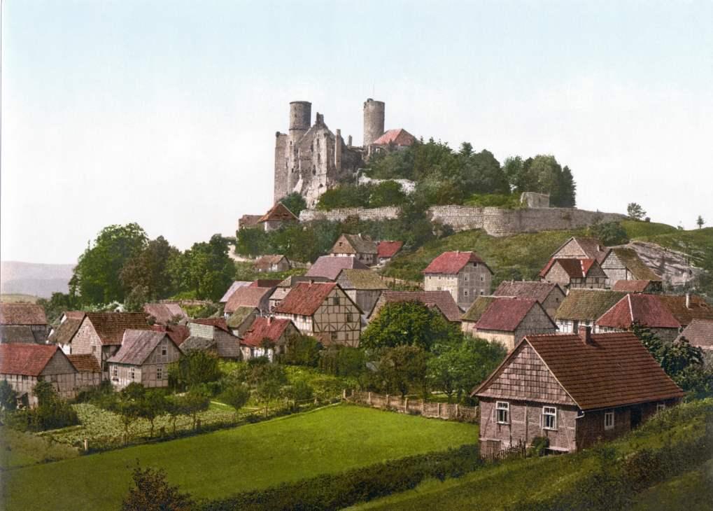 Burg Hanstein um 1900