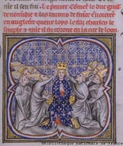 Krönung von Ludwig IV d Outre-Mer Quelle: Wikipedia