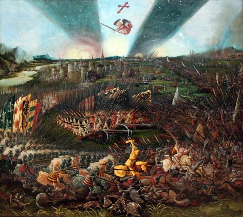Sieg Karls des Großen über die Awaren bei Regensburg