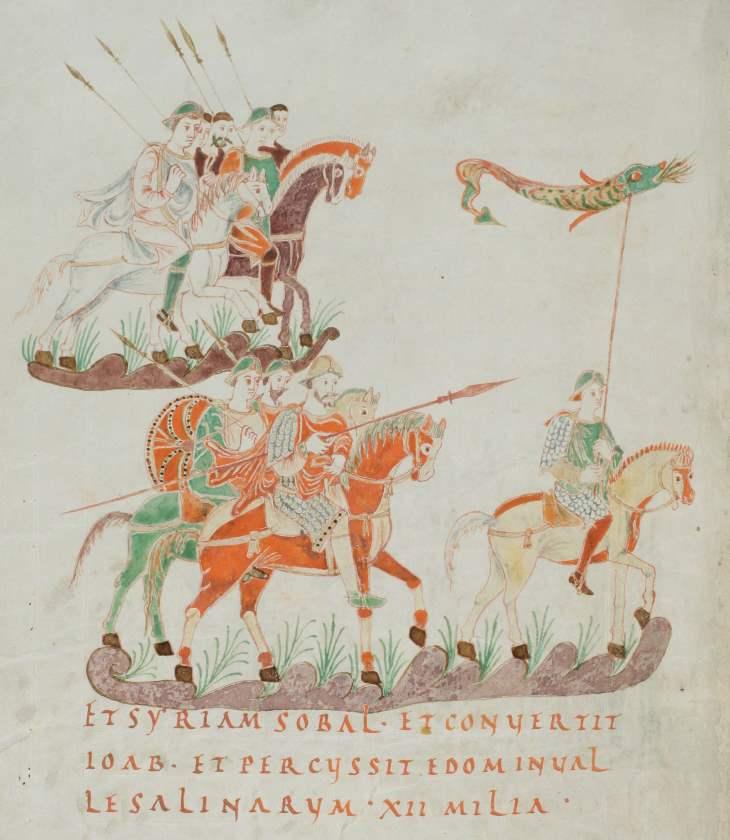 St. Gallen, Stiftsbibliothek, Cod. Sang. 22, p. 140 - Goldener Psalter (Psalterium aureum) von St. Gallen - Psalterium Gallicanum mit Kollekten u. Orationen