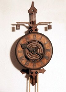 Nachbildung einer Turmuhr (Quelle: Wikipedia)