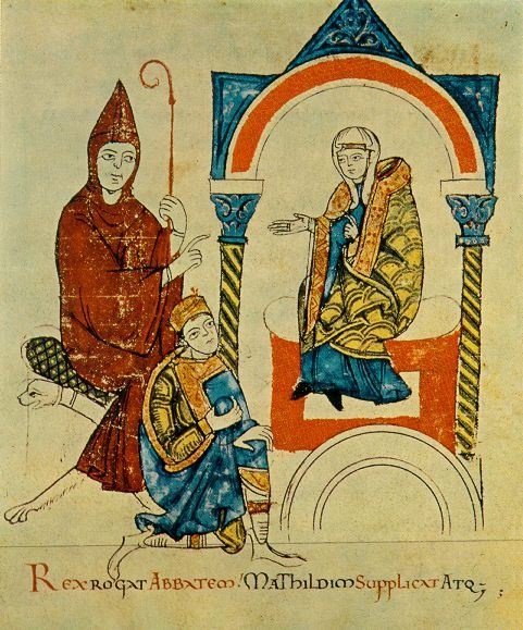 König gegen Papst, der Gang nach Canossa