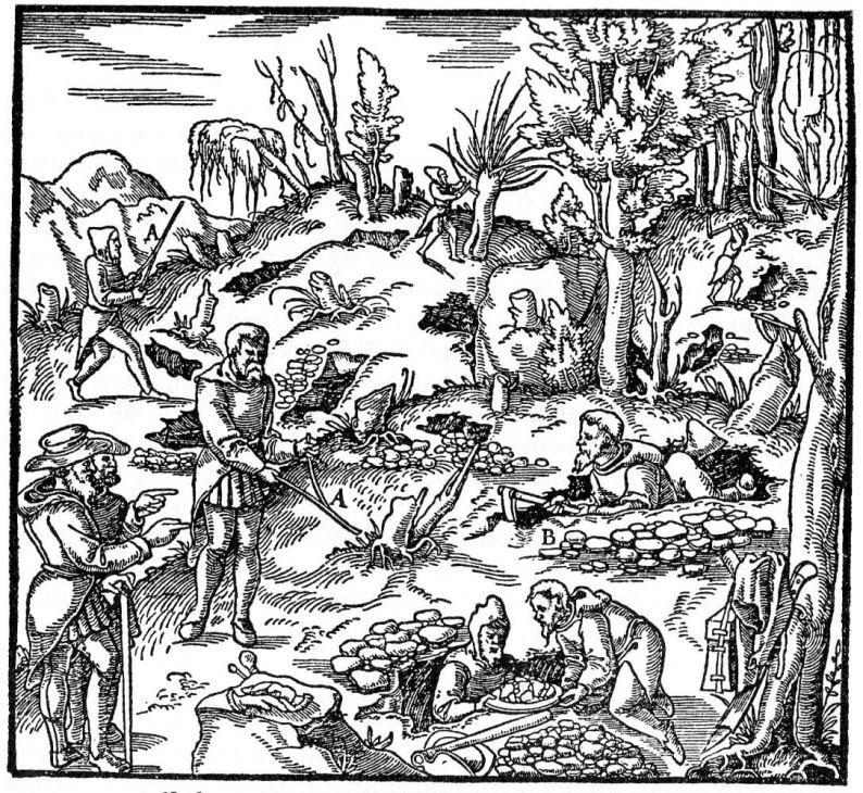 Frühes Mittelalter – Bergbau im Mittelalter (ab dem 10 Jahrhundert)