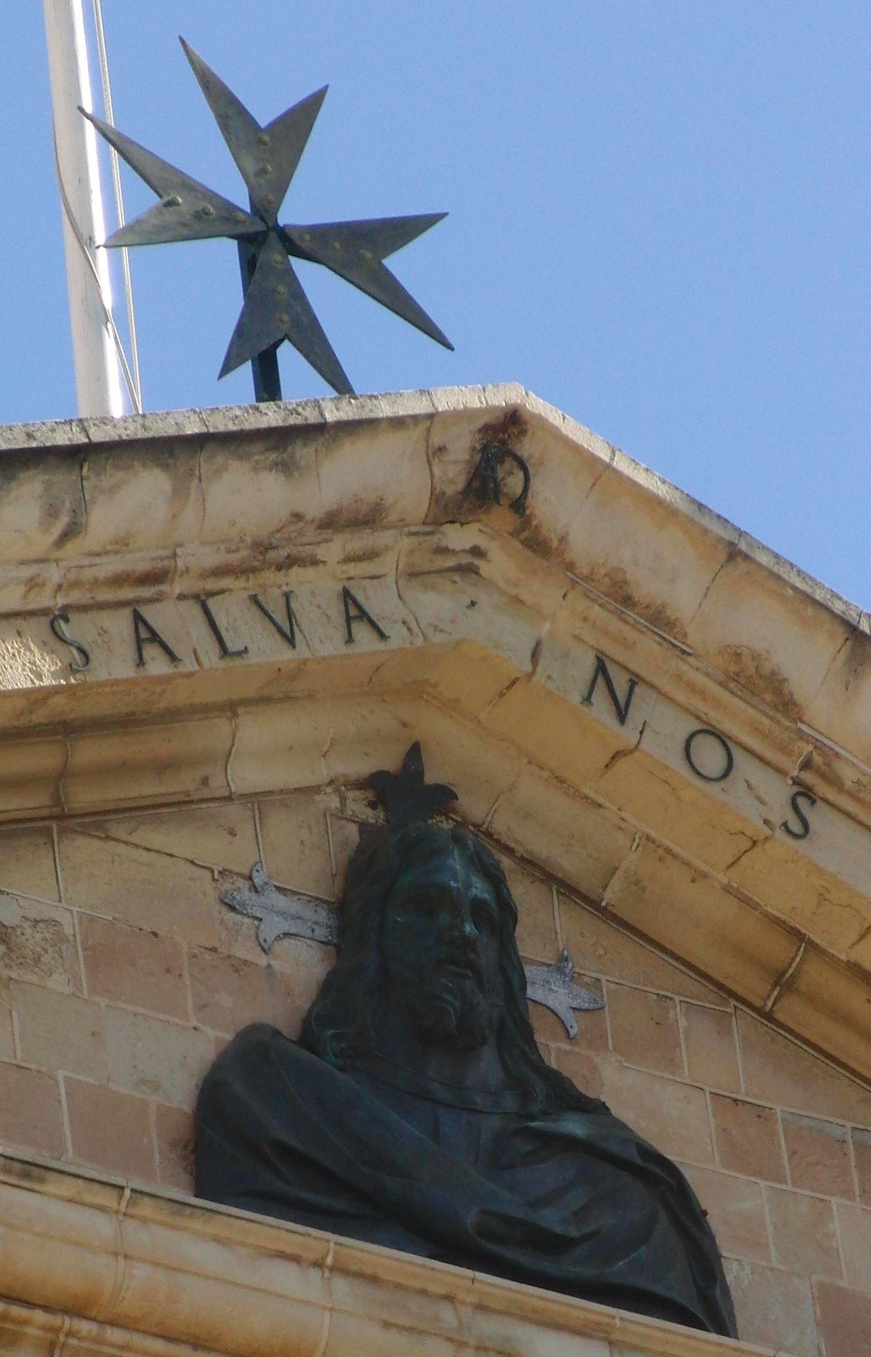 Malteserkreuz auf Malta