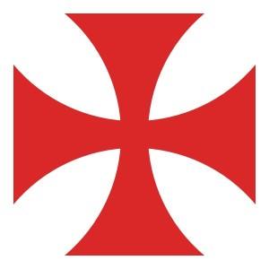 Tatzenkreuz der Templer (Quelle: Wikipedia)