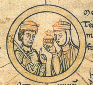 Mathilde, Königin und Heilige
