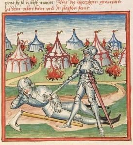 Cod Pal germ 152 - Die als Ritter verkleidete Herzogin neben dem schlafenden Riesen