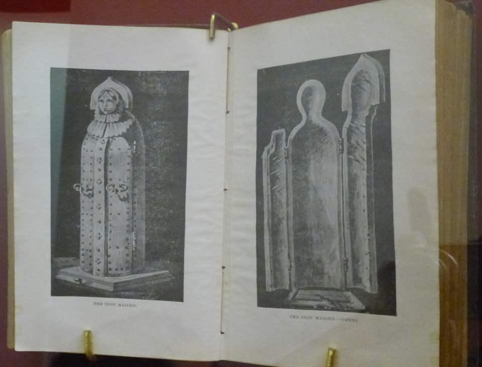 Eiserne - Zeichnung - im Museum of medieval Torture instruments in Prag