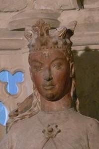 "Gotische Statue von ""Edgitha"" im Magdeburger Dom Titel: Edith of England  Foto: Acoma Original-Datei: Edith of England Lizenz: creativecommons.org/licenses/by-sa/3.0/deed.de"