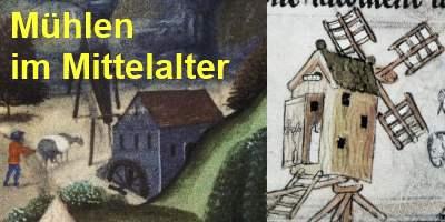 Mühlen im Mittelalter