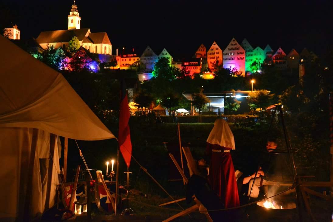 Horb bei Nacht (Copiright: Cosmo)