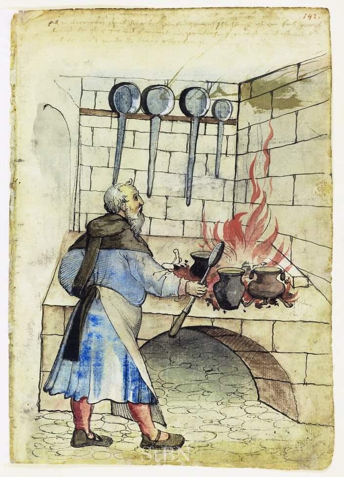 Heinrich Schlichting - Koch - Amb 317 2 Folio 142 recto Mendel I