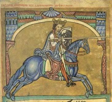 Alfons IX. von Leon Miniatur aus dem 13. Jahrhundert Quelle: Wikipedia