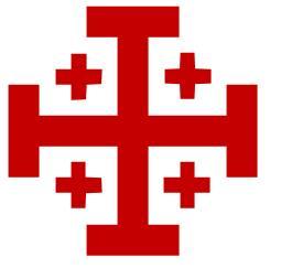 Jerusalemkreuz (Quelle: Wikipedia)