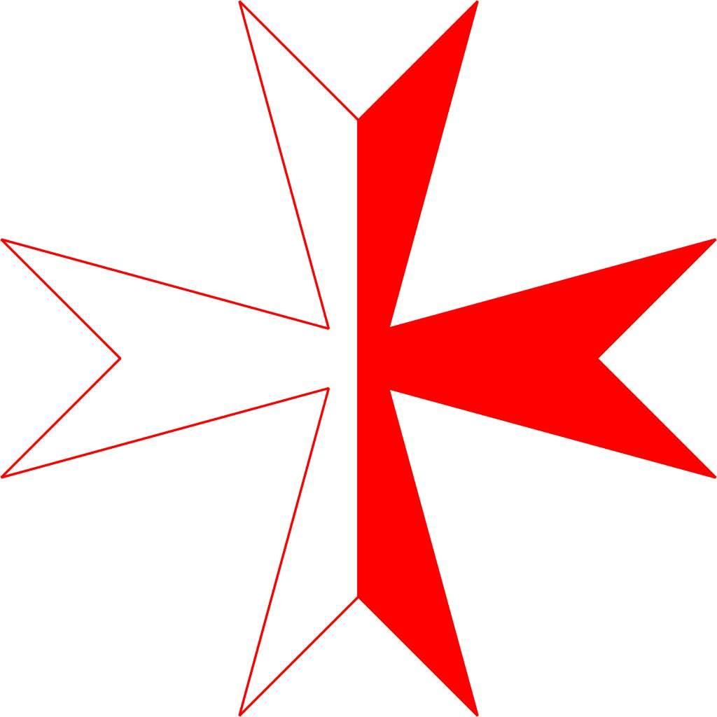 Kreuz der Ritter von Montjoie