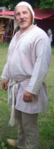 männliche Darstellung mit Unterwäsche (eigene Aufnahme/ Archiv Bruder Johannes)