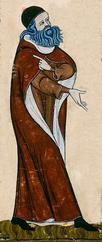 Raimundus Lullus - Ausschnitt aus Cod St Peter perg 92 Blatt 11v