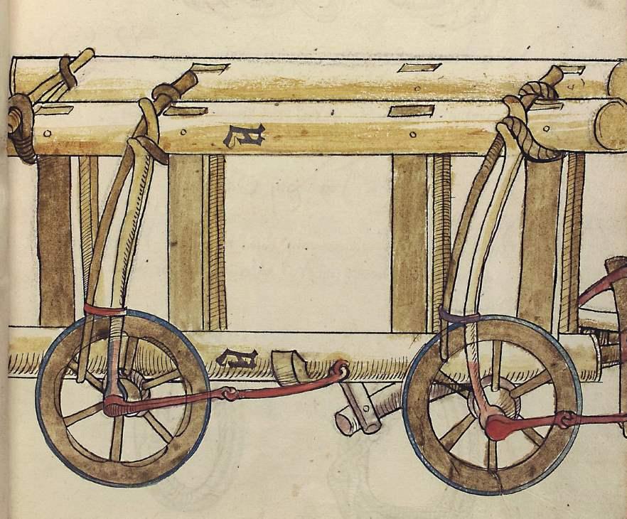 Cod Pal germ 130 Beßnitzer Ulrich Zeughausinventar von Landshut 1485 Seite 14r