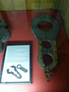 Halsgeige - Foltermuseum Prag eigene Aufnahme