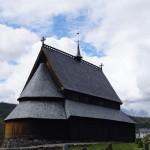 Stabkirche Reinli - Ansicht von Hinten