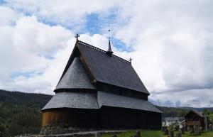 Stabkirche in Reinli - Ansicht von Hinten Quelle: eigene Aufnahme