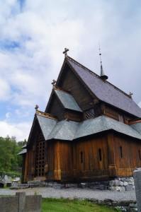 Stabkirche in Reinli - Ansicht von vorne Quelle: eigene Aufnahme