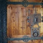 Stabkirche Hedalen - Eingangstür aus dem Mittelalter