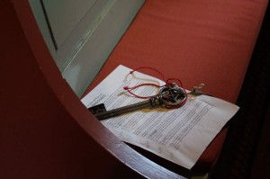 Stabkirche Hedalen - Schlüssel zur Kirche Quelle: eigene Aufnahme