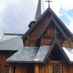 Stabkirche Hedalen - Ansicht von vorne