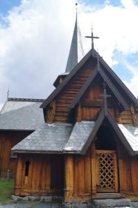Stabkirche Hedalen - Ansicht von vorne Quelle: eigene Aufnahme