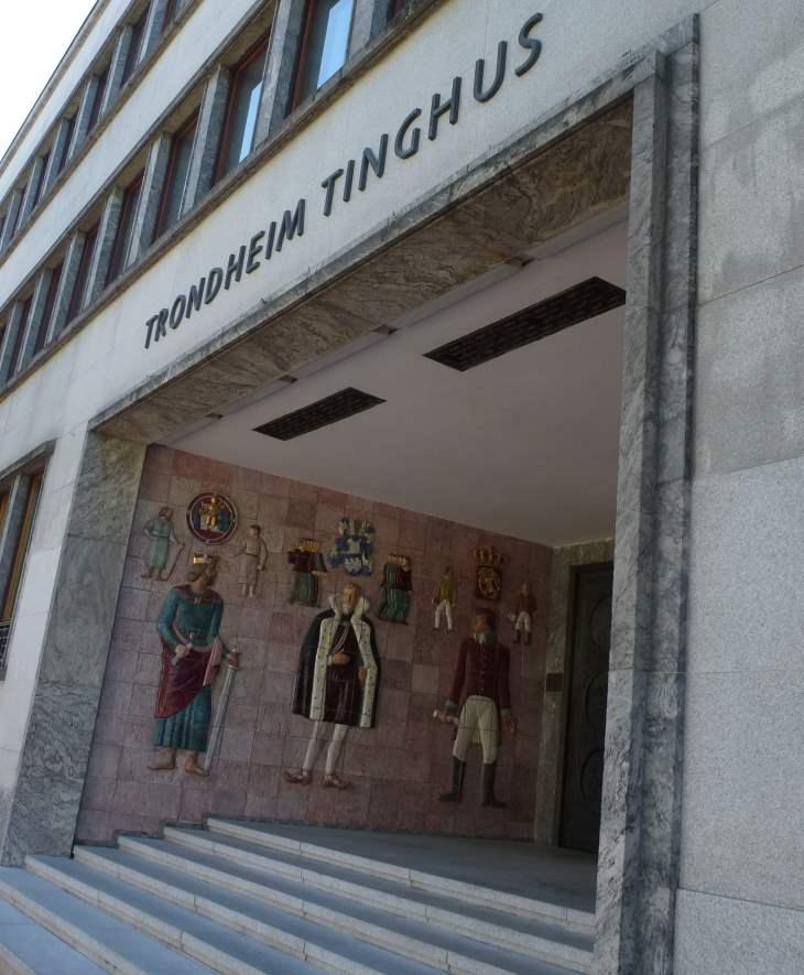 Gerichtsgebäude in Trondheim/Norwegen