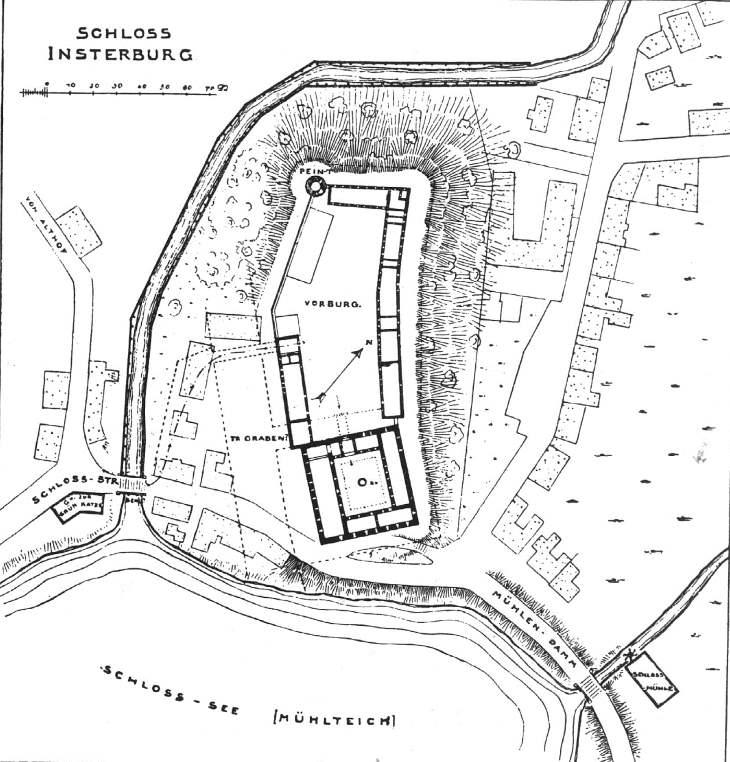Grundriss Insterburg