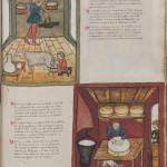 Cod 5264 fol 98r Sammelhandschrift Medizinischer Traktat Milch und Käse